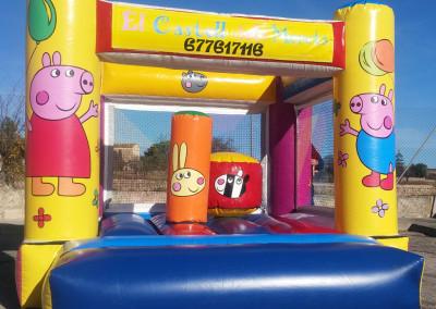 Peppa Pig </br> 3,25 x 4 x 2,65