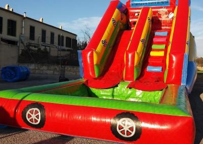 Cars – Peppa <br>4,1 x 7,50 x 4,30 con piscina de 3 x 3